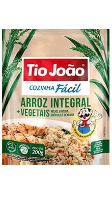 Arroz Integral + Vegetais