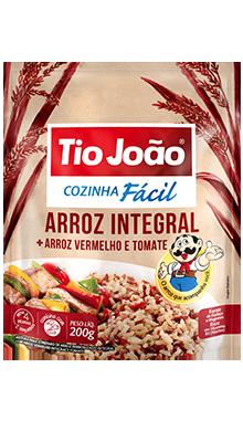 Arroz Integral + Arroz Vermelho e Tomate