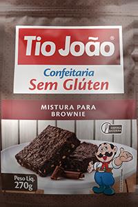 Mistura para Sobremesa Tio João – Brownie