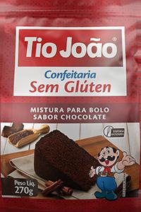 Mistura para Bolo Tio João – Chocolate
