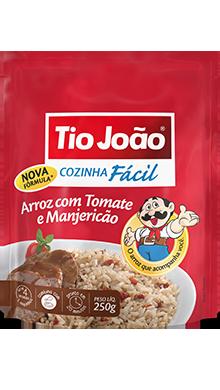 Arroz com Tomate e Manjeiricão