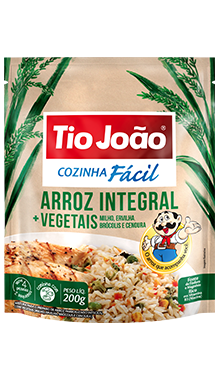 Arroz Integral + Vegetais