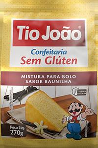 Mistura para Bolo Tio João – Baunilha